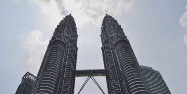 the famous Petronas Twin Tower