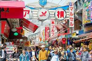 tokyo-japan-april-ameyoko-ameya-yokoc-yokocho-ueno-side-open-market-one-most-popular-sells-raw-41319742